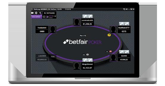 Клиент Betfair Poker