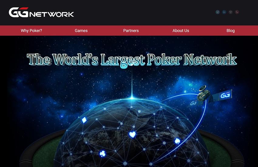 Сайт азиатской сети Good Game Network (GGN), в которую входит рум GGPokerOK.