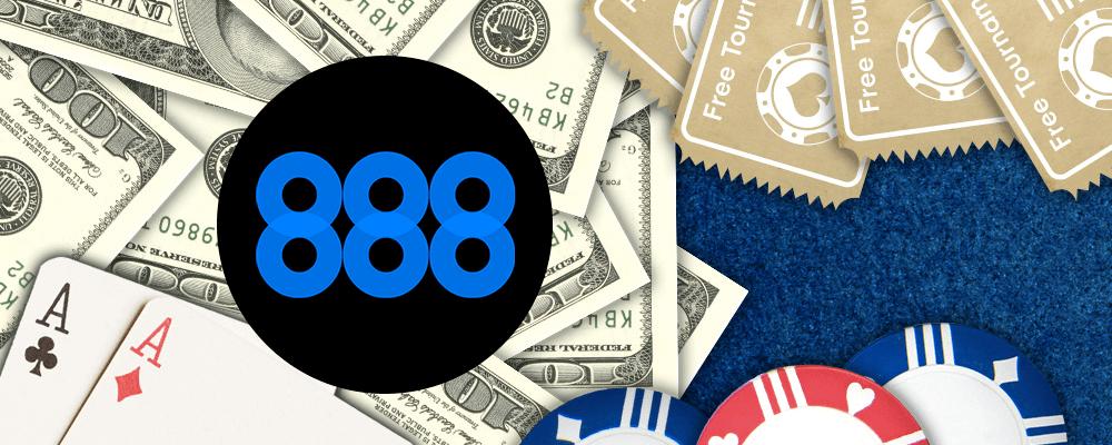 Бонус на 888покер
